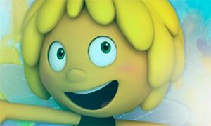 Игра для девочек: Пчелка Майя и пузырьки