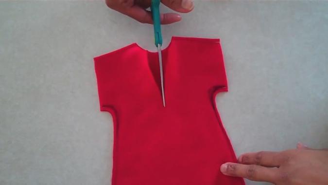 Как легко сделать юбку для куклы