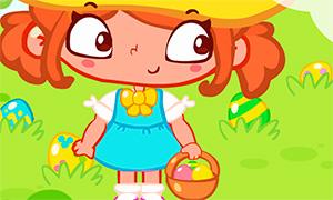 Игра: Сара отвлекается и ищет пасхальные яйца
