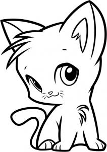 Коты воители рисуем огнезвезда