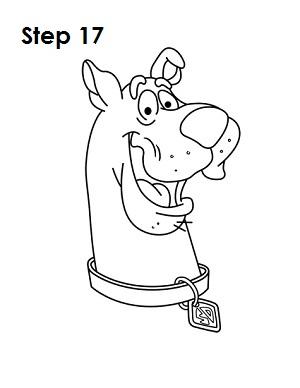 Как рисовать Скуби-Ду