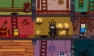 Игра Время Приключений: Фин, Джейк и Король Ниндзя