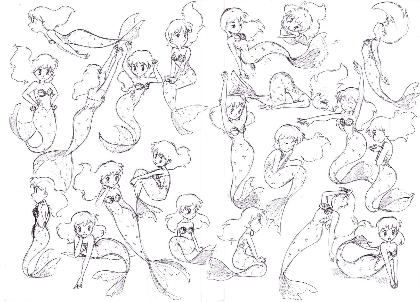 Схемы для рисования поз