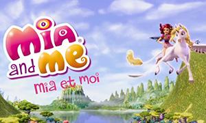 Мия и Я: Опенинг на французском языке