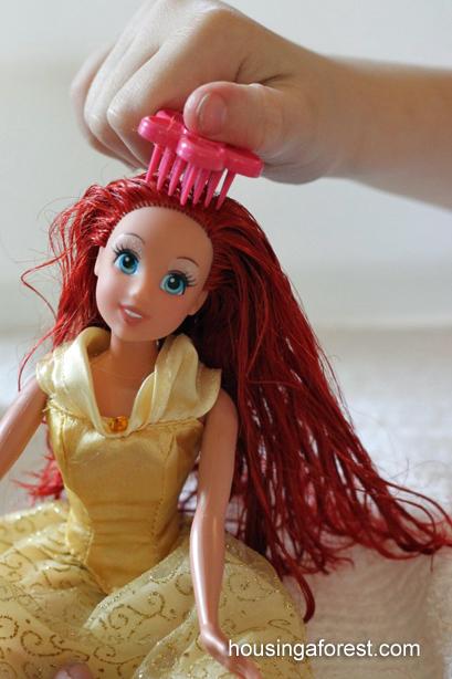 Как сделать чтобы у куклы были хорошие волосы