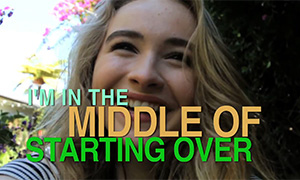 Сабрина Карпентер: клип на песню The Middle of Starting Over