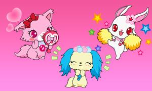 Драгоценные Зверушки: Аватарки Jewelpet с разными эмоциями