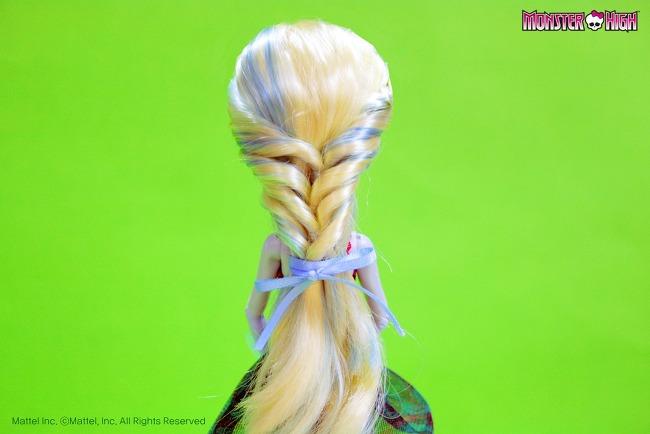 Прическа кукле мастер класс