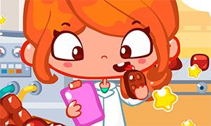Игра для девочек: Отвлекаемся на шоколадной фабрике