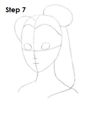 Как рисовать Белль