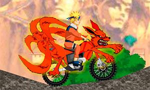 Игра Наруто: Миссия на мотоцикле