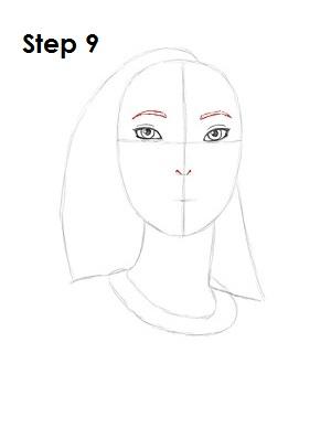 Рисование: Как рисовать Покахонтас