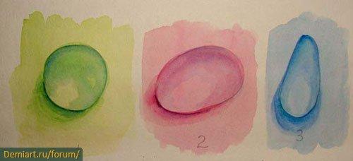 Как рисовать реалистичные капли воды акварельными красками