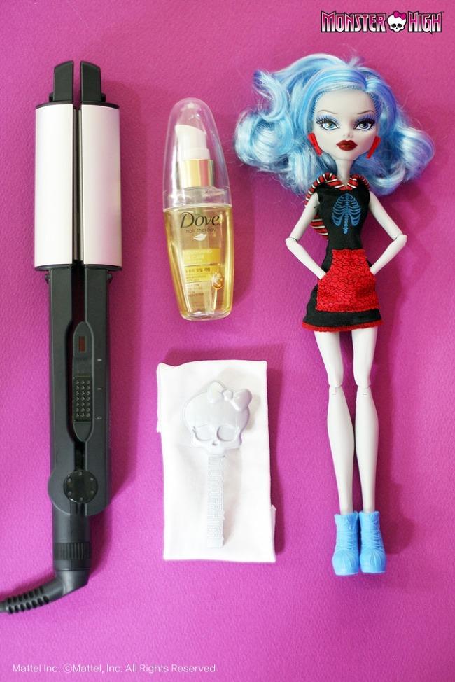 Как разгладить волосы у куклы