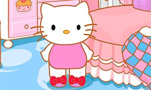 Игра для девочек: Утро с Хелло Китти
