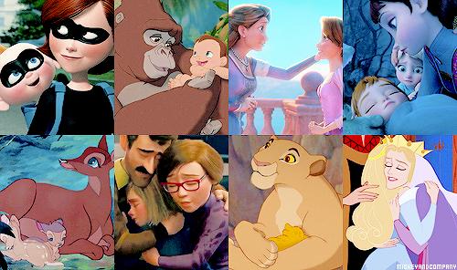 Мамы в мультфильмах