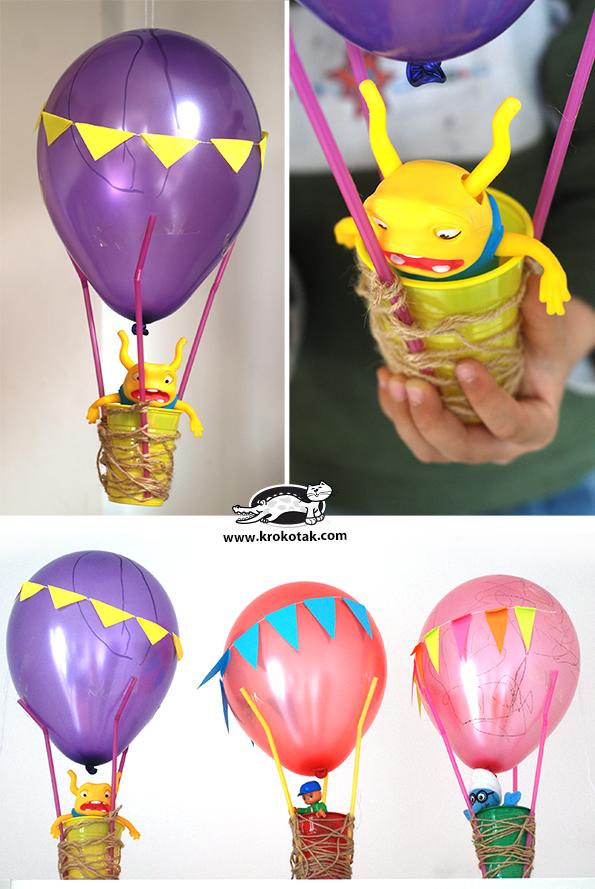 Как сделать воздушный шар своими руками в  945