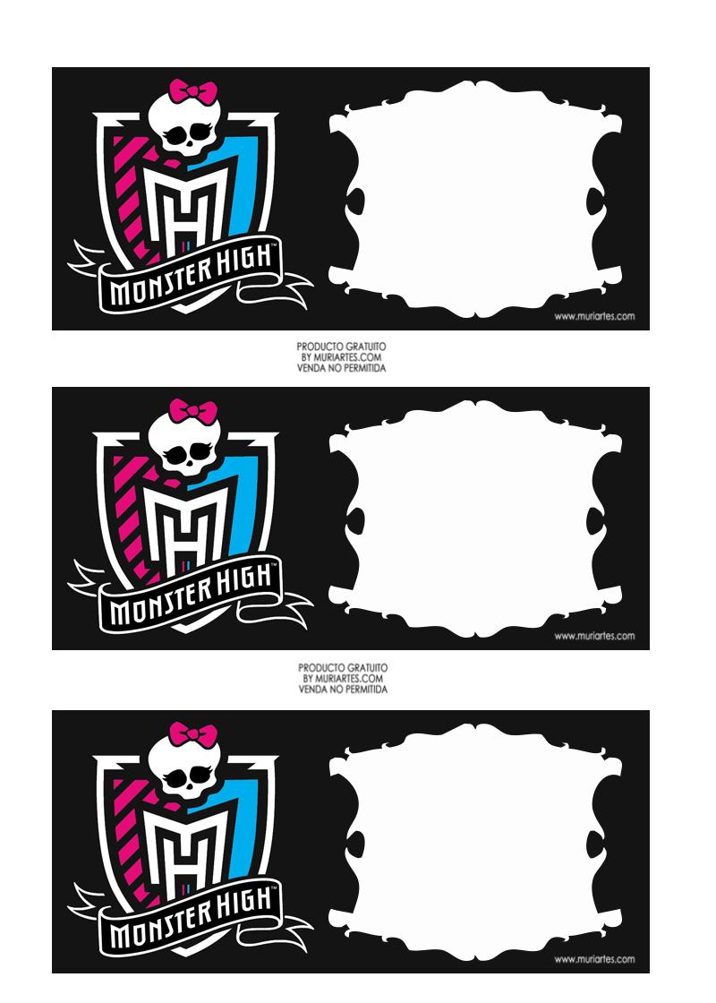 Поделки: Распечатки для кукол Монстр
