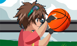 Игра Бакуган: Баскетбол с Деном Кузо