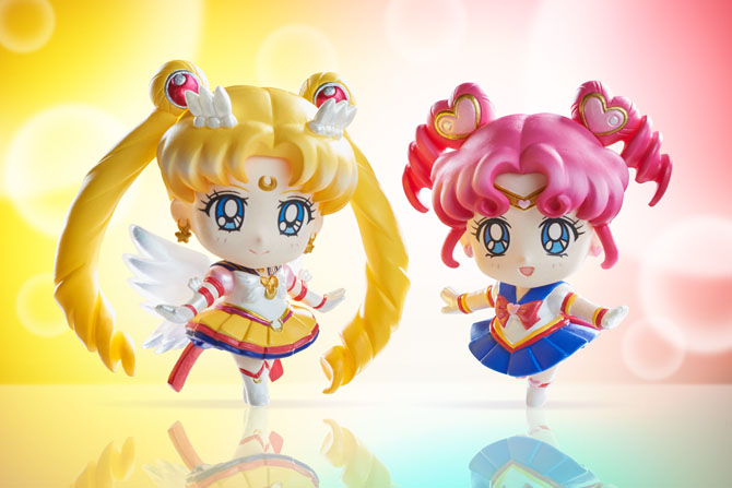 Новые фигурки: Sailor Moon Sailor Starlights Petit Chara
