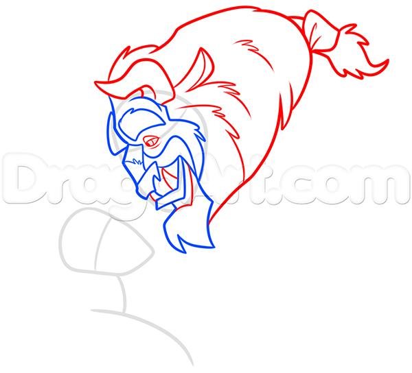 Рисование: Рисуем Красавицу и Чудовище карандашом поэтапно