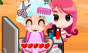 Игра для девочек: Салон парикмахерская