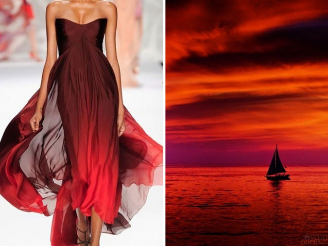 Мода и природа