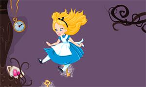 Игра для девочек: Путешествие Алисы в стране Чудес