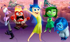 Игра мультфильм Головоломка: Три в линию с эмоциями