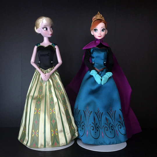 Как сделать платье для куклы эльзы 129