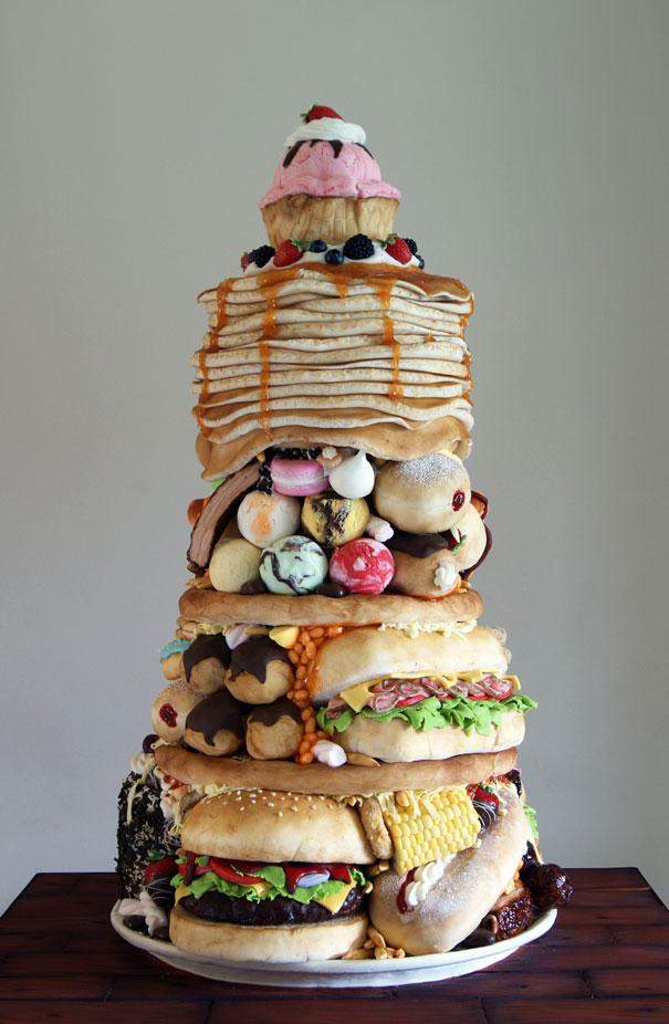 Необычные торты с фото
