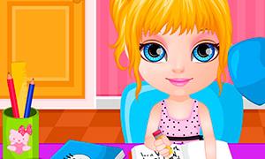 Игра для девочек: Отвлекалка от уроков