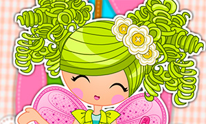 Игра Лалалупси: Одевалка Цветочной феи - Pix E. Flutters