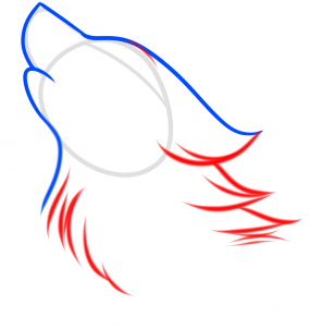 Как нарисовать дух волка
