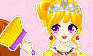 Игра для девочек: Уборка в замке принцессы
