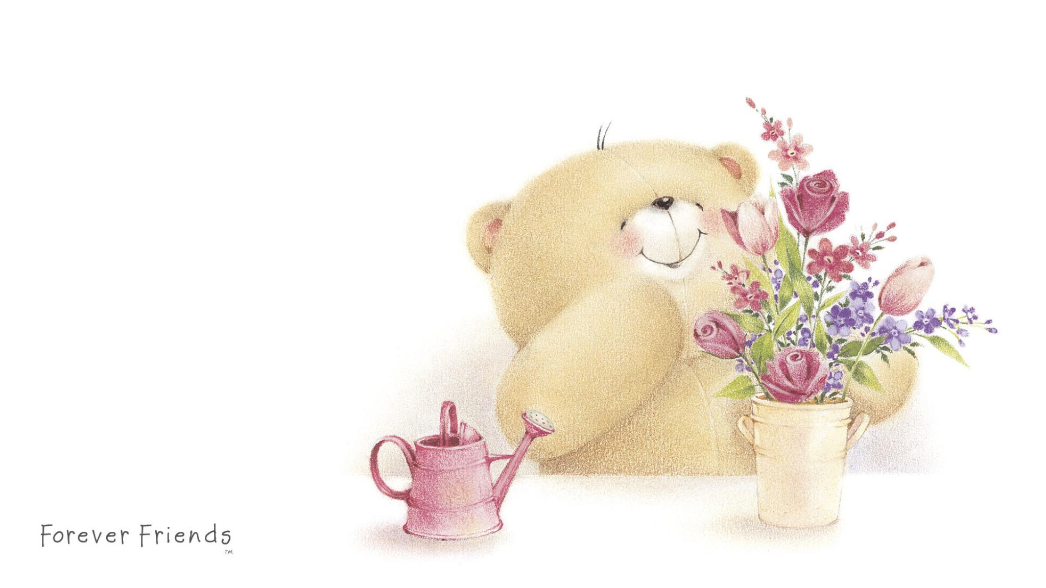 Доброго утра медвежонок - Доброе утро - Анимационные блестящие картинки GIF 13