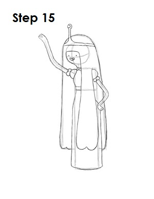 Время Приключений: Урок рисования принцессы Жвачки