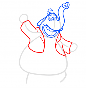 Мультфильм Головоломка: Как нарисовать Бинго Бонго
