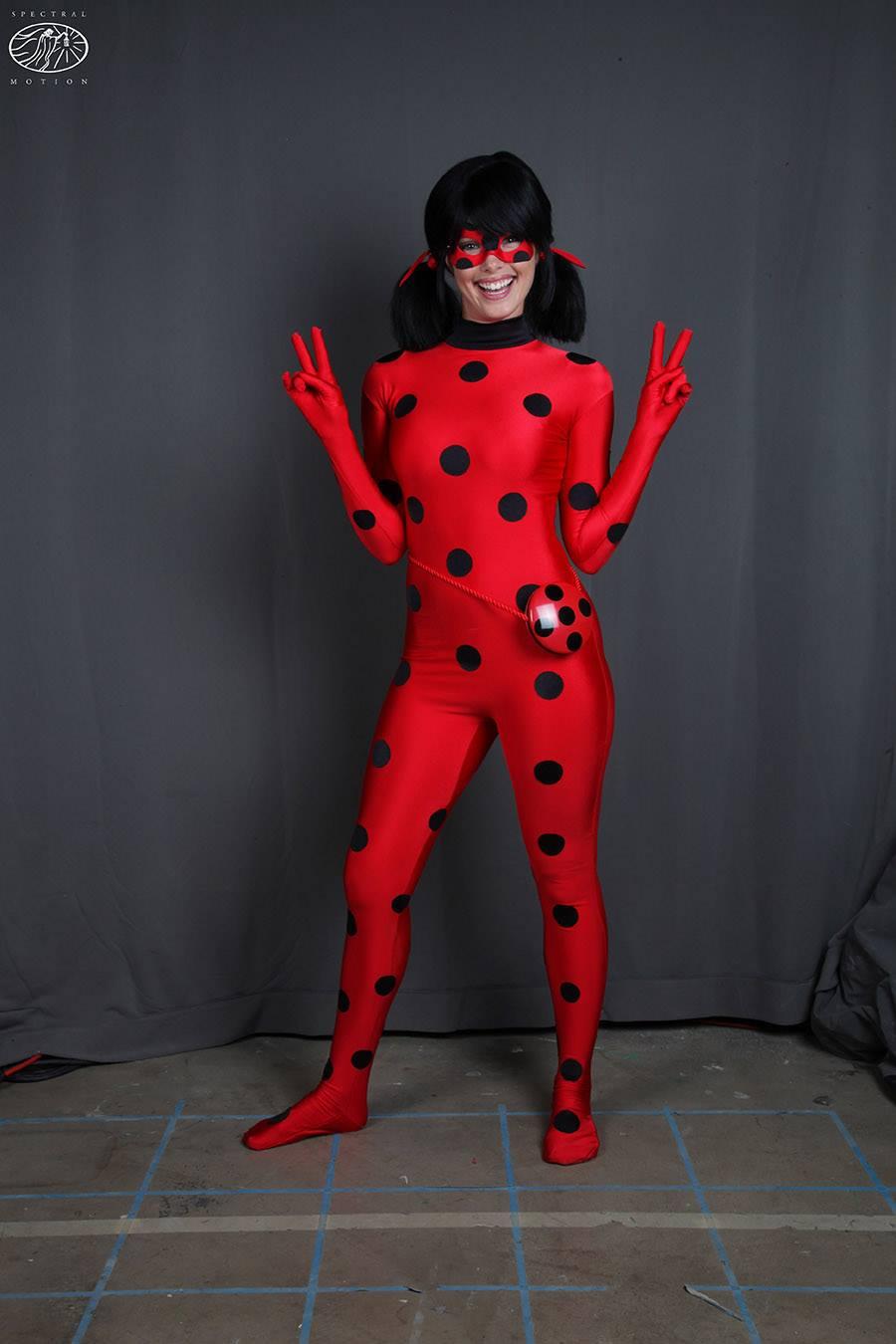 Как сделать костюм леди баг и супер