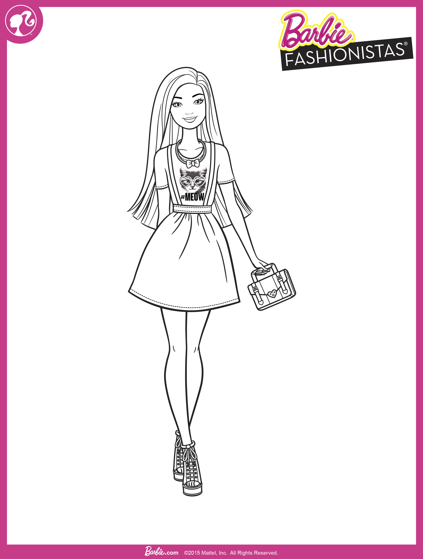 Раскраски для девочек девушки в платьях