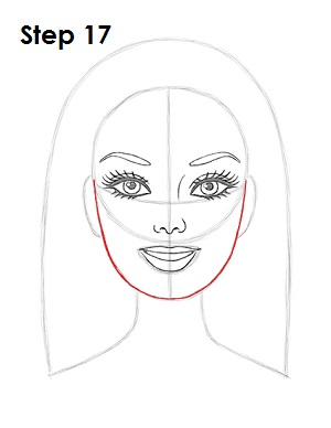 Как нарисовать Барби карандашом поэтапно