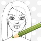 Як намалювати Барбі олівцем поетапно - уроки малювання