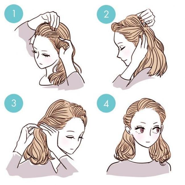 Красивые прически для девочек: Способы убрать челку и волосы с лица