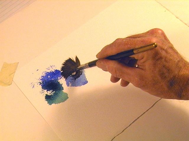 Рисуем красками: Способы рисовать линии
