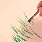 Малюємо фарбамиСпособи малювати лінії - уроки малювання
