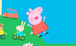 Игра для девочек: Свинка Пеппа и прыжки