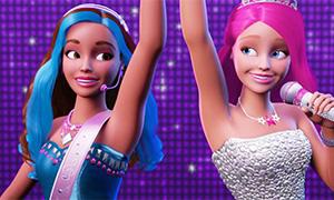 Барби Рок Принцесса: Видео трейлер