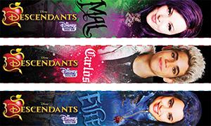 Disney Descendants - Наследники: Закладки для книг