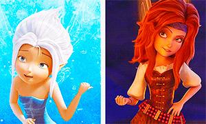 Феи Дисней: Красивые анимации с главными героинями