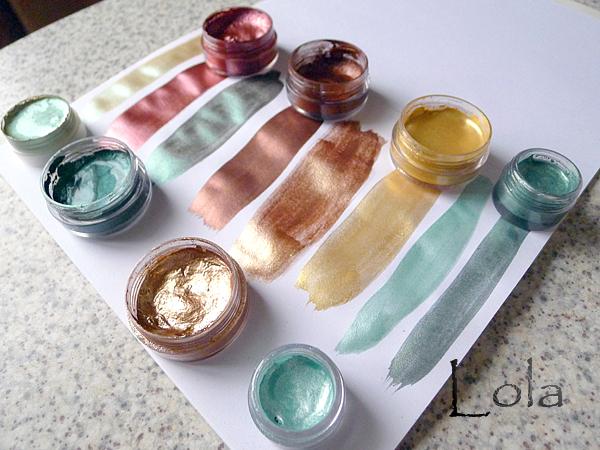 Перламутровая краска своими руками фото 212